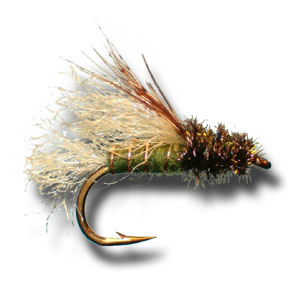 Z-Wing Caddis Emerger - Olive