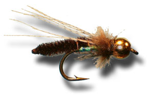 BH Caddis Poopah - Brown