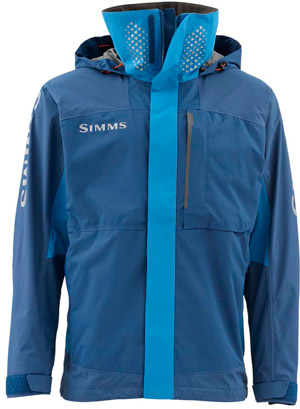 <font color=red>On Sale - Clearance</font><br>Simms Challenger Jacket - Cobalt
