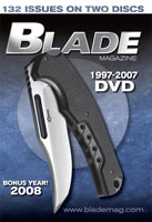 BLADE MAGAZINE 1997-2007 ISSUES DVD