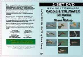 CADDIS & STILLWATER PATTERNS: 2-SET DVD