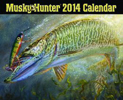 2014 CALENDAR: MUSKY HUNTER