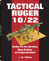 TACTICAL RUGER 10/22: ;BUILDING YOUR OWN MARKSMAN, SNIPER SIMULATOR, AND COMPETETION MODELS