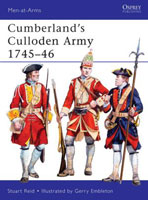 MEN-AT-ARMS: CUMBERLAND'S CULLODEN ARMY 1745-46