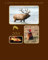 2014 SILVER CREEK PRESS SPORTSMAN'S DESK CALENDAR