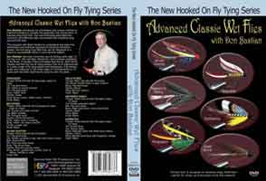 NEW HOOKED ON FLY TYING SERIES: ADVANCED CLASSIC WET FLIES WITH DON BASTIAN