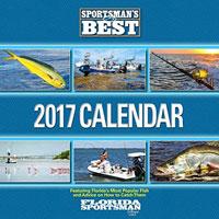 Fly fishing flies 2017 florida sportsman hd calendar for Fishing calendar 2017