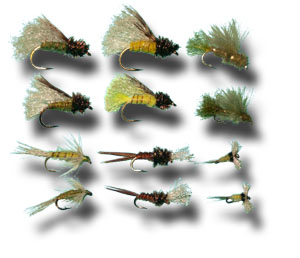 Emerger Assortment - 12 Flies