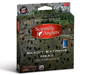 <font color=red>On Sale - Clearance</font><br>Skagit Extreme Intermediate Head - Blue