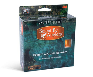 Scientific Anglers Distance Spey - Chartreuse/Orange