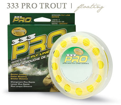 Cortland 333 Pro Trout Floating Fly Line