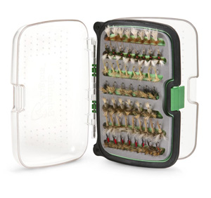 Scientific Anglers System X Waterproof Fly Box - Green