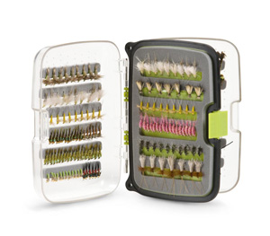 Scientific Anglers Waterproof Fly Box - Max 432 Fly Box - Small - Lime Green