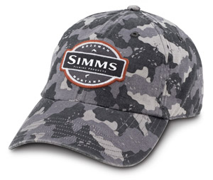 Fly Fishing Flies Simms 6 Panel Washed Twill Cap