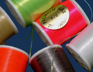 Waxed Nylon Thread - 6/0