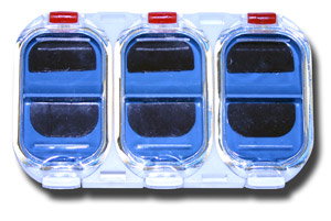 6 Compartment Magnetic Midge Box - Style B