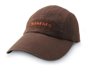 <font color=red>On Sale - Clearance</font><br>Simms 8-Panel Long Bill Cap