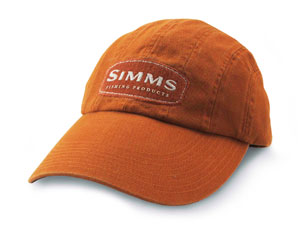 Fly fishing flies simms 8 panel long bill cap for Long bill fishing hat