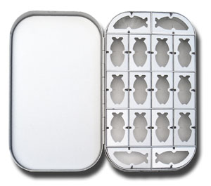 Aluminum Fly Box - 16 Compartment
