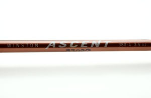 Fly fishing flies winston ascent blank only for Ascent fly fishing