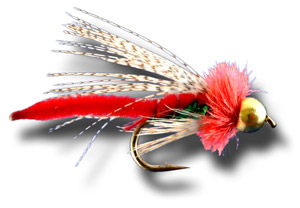 BH Caddis Poopah - Red
