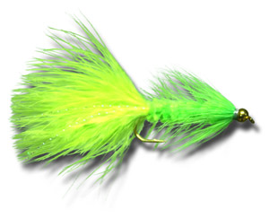 BH Woolly Bugger - Chartreuse