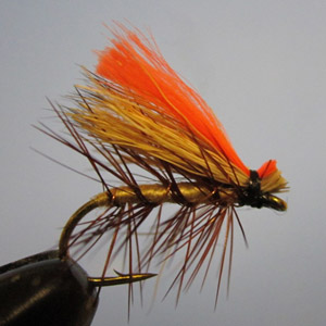 Bargain Bin Hot Wing Elk Hair Caddis