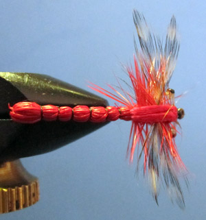 Bargain Bin Dragonfly - Red
