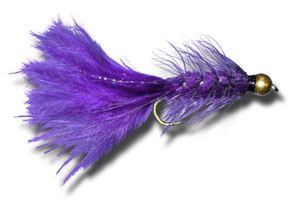 BH Woolly Bugger - Purple