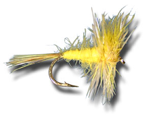 Big Yellow May Spinner