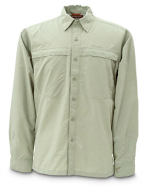 <font color=red>On Sale - Clearance</font><br>Simms Bluewater Shirt - Green