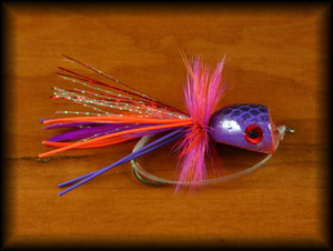 Bubble Diver Popper - Purple/Red