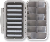 C&F Design 12 Compartment 8 Row Waterproof Fly Box - CF-3308