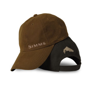 <font color=red>On Sale - Clearance</font><br>Simms Waxed Canvas Cap