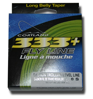 <font color=red>On Sale - Clearance</font><br>Cortland 333+ Fly Line - Salmon Trolling Level Line
