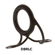 Atlas 316SS - Ring Lock - DuraLite Casting/Stripper Guide - Black - DBRLC