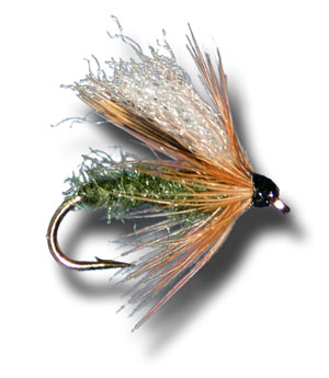Diving Caddis - Olive