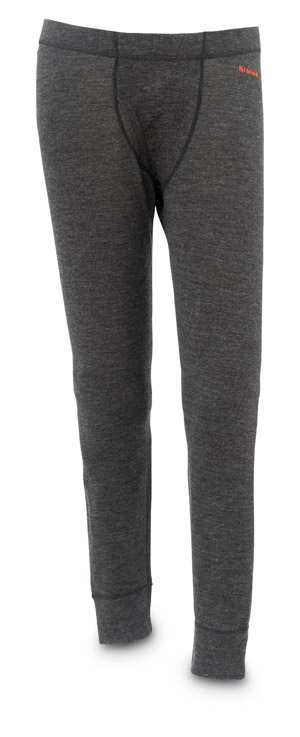 <font color=red>On Sale - Clearance</font><br>Simms DownUnder Merino Bottom - Charcoal