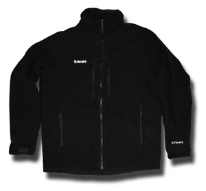 <font color=red>On Sale - Clearance</font><br>Simms Drift Windstopper Fleece Jacket - Black