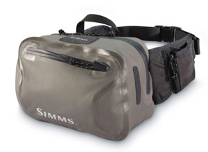 <font color=red>On Sale - Clearance</font><br>Simms Dry Creek Hip Pack - Sterling
