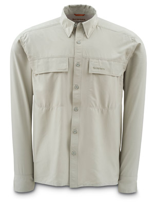 <font color=red>On Sale - Clearance</font><br>Simms EbbTide Shirt - Dark Khaki