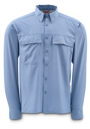 <font color=red>On Sale - Clearance</font><br>Simms EbbTide Shirt - Stonewash