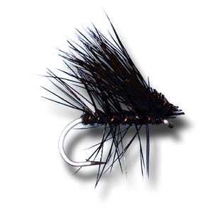 Elk Hair Caddis - Black