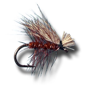 Elk Hair Caddis - Brown