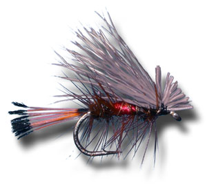 Elk Hair Caddis - Royal