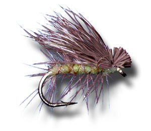 Elk Hair Caddis - Yellow