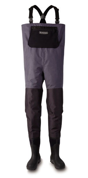 <font color=red>On Sale - Clearance</font><br>Simms Exstream Bootfoot Waders - Lug Sole - Arctic Blue
