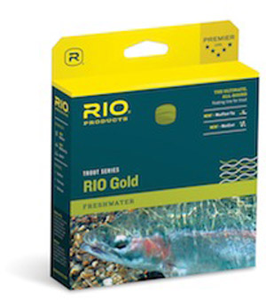 Rio Gold Fly Line - Melon/Gray Dun
