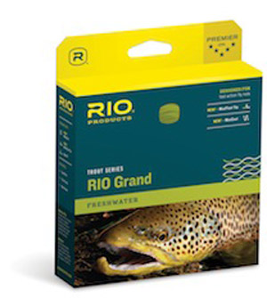 Rio Grand Fly Line - Pale Green/Light Yellow