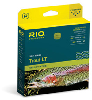 Rio Trout LT (Light Touch) Fly Line - Camo/Beige